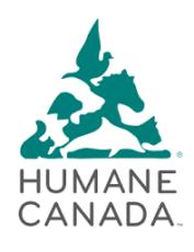 Humane Canada Logo
