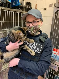 ANIMAL SERVICES OFFICER – FULL-TIME (6 month contract) background
